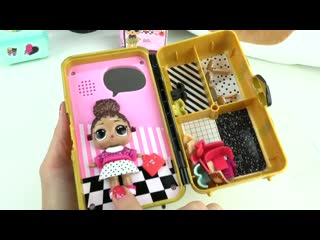LOL Surprise Style Suitcase Doll Opening! Boss Queen Outfits, Lights, and Sounds