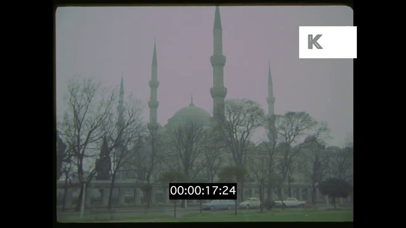 1970s Istanbul Mosques Harbour Turkey in HD