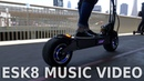 Max Brhon, Humanity - Electric group ride music video with skateboards, scooters, electric unicycles