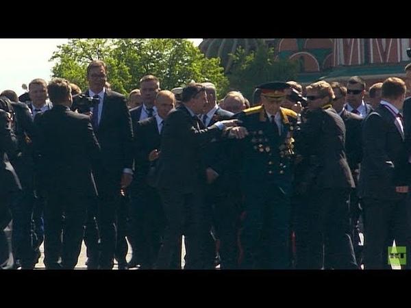 Putin defiende a un veterano de sus propios guardaespaldas