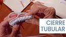 Cierre tubular escote en V o en pico 💁♀ Tejer Fácil y Bien. Lucila