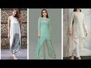 Beautiful up-down style kurta/kurti designs ideas for girls and women's