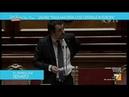 Salvini dal Senato 'Generosità se dietro c'è Soros mi viene qualche dubbio'