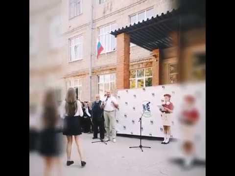 Открытие арт-объекта под названием «Географический центр посёлка Приокский»