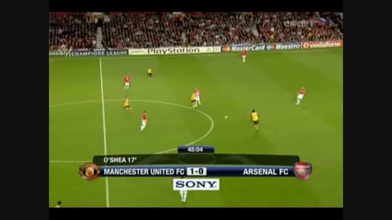 210 CL-2008/2009 Manchester United - Arsenal FC 1:0 (29.04.2009) HL
