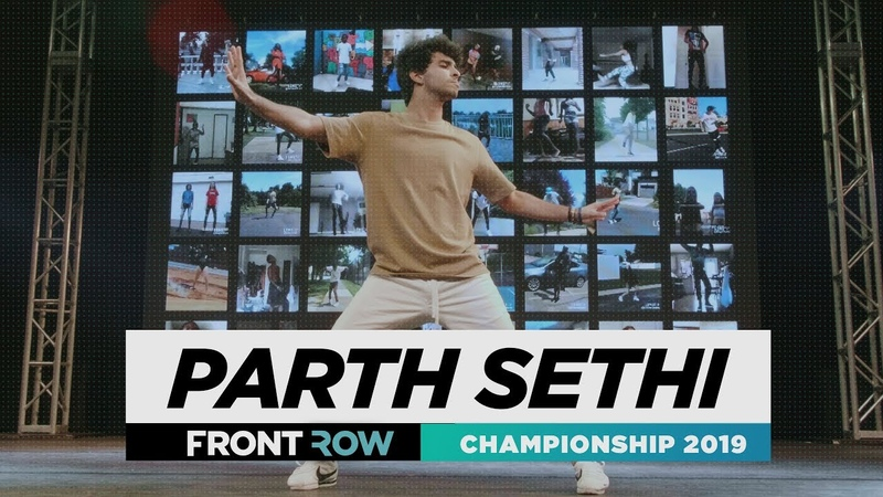 Parth Sethi   FRONTROW   Solo Contest Winner   World of Dance Championship 2019   WODCHAMPS19