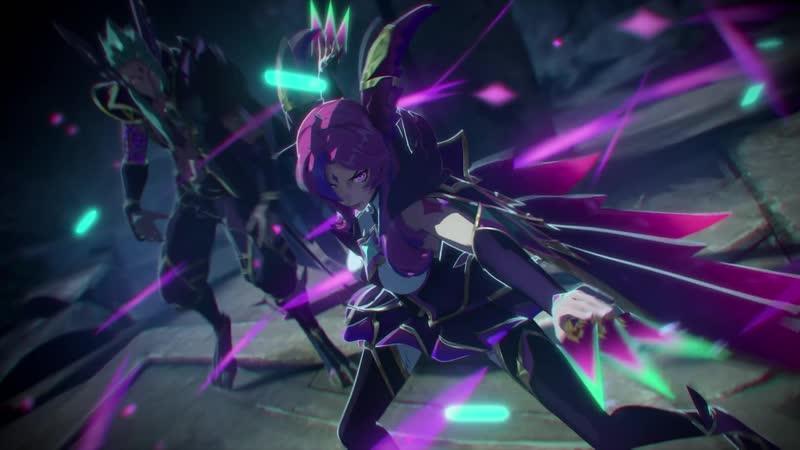 Свет и тень Анимационный трейлер Звездных защитников League of Legends
