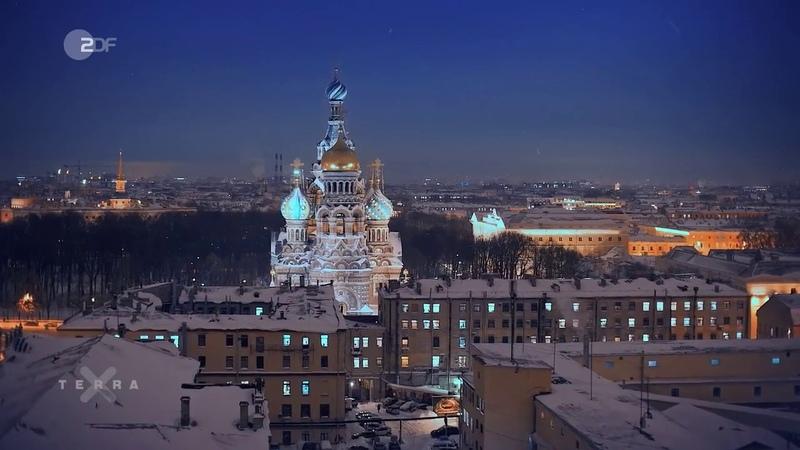 HD DOKU Russland von oben 1 5 St Petersburg Moskau und die Wolga 2018