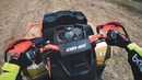 Riding on BRP Can Am Outlander XMR 1000R