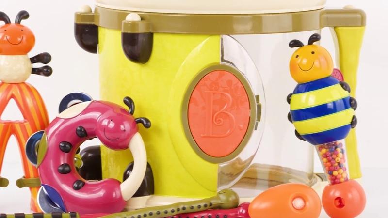 Музыкальная игрушка Парам-Пам-Пам от Battat
