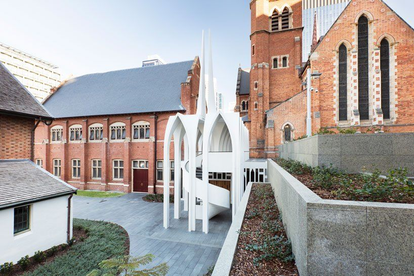 Palassis Architects Expresses Cathedral Vaulting And Pointed Arches With The Song School