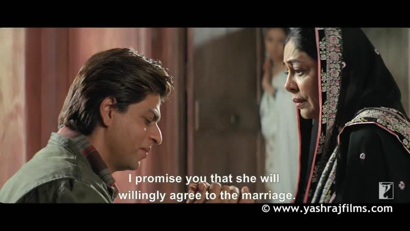 Scene Mere Desh Ki Har Maa Aap Jaise Hoti Hai ¦ Veer-Zaara ¦ Shah Rukh Khan ¦ Preity Zinta