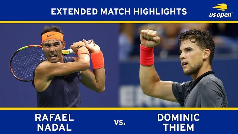 Rafael Nadal vs Dominic Thiem   US Open 2018 Quarter-Final