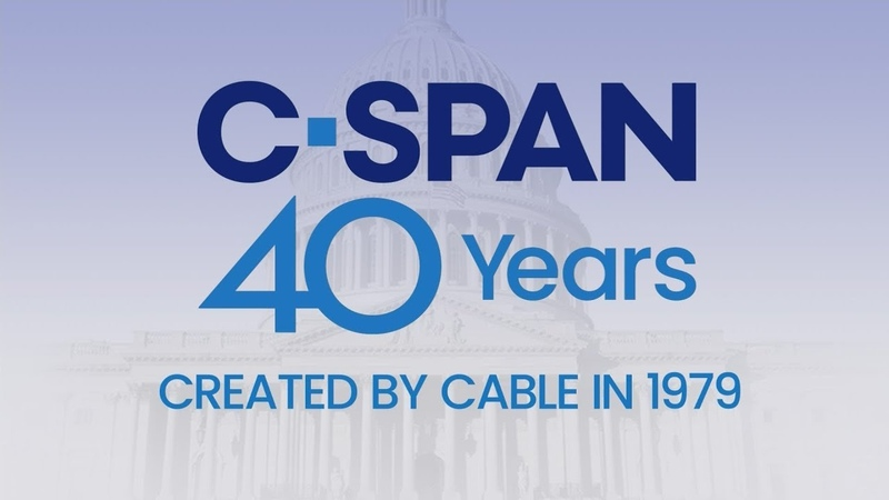 C-SPAN 40 Years A Message from our Founder