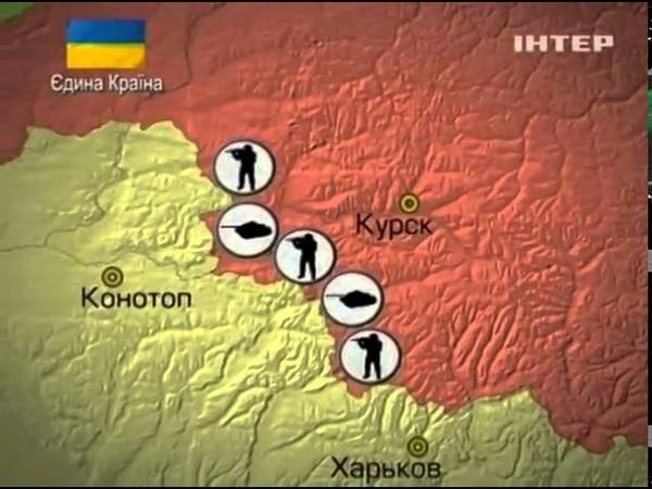 Где у границы с Украиной находятся войска России (кар...