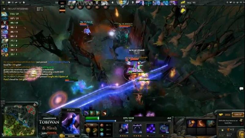 NaVi Black Hole vs TongFu