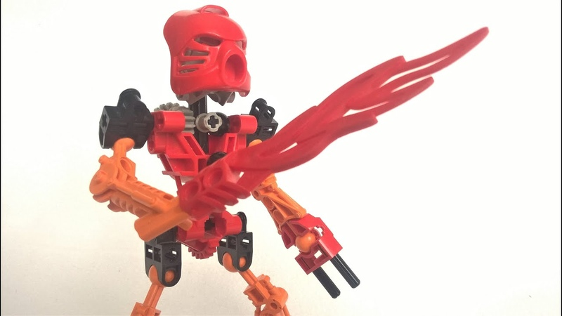 Лего Бионикл Обзор набора Тоа Таху 8534 2001 Lego Bionicle Toa Tahu set review