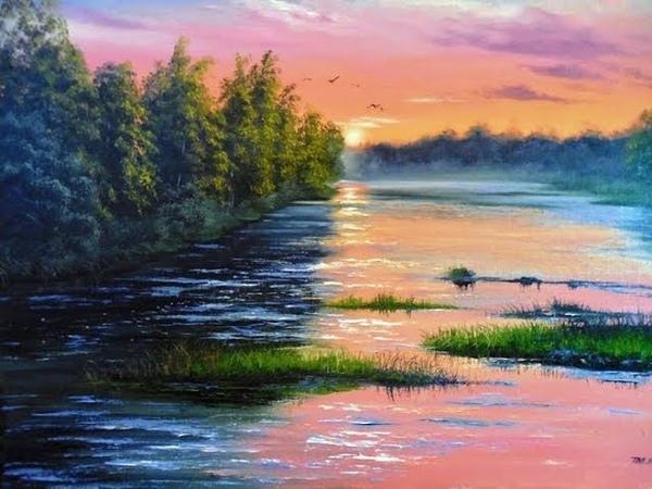 * Отдохнём на природе. Картины художницы Тамары Масленик
