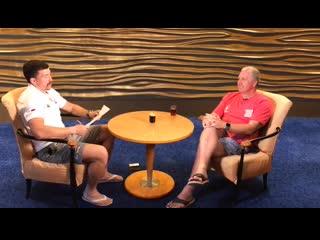 Бэкстэйдж интервью Василия Артемьева с Лином Джонсом для Матч ТВ