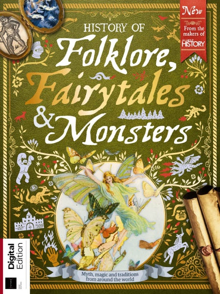 All About History History of Folklore, Fairytales and Monsters Ed1 2019