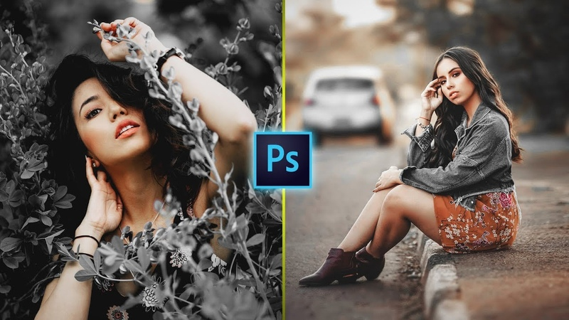 Black Theme Color Grading Effect in Photoshop   Photo Effects FREE ACTION FILE
