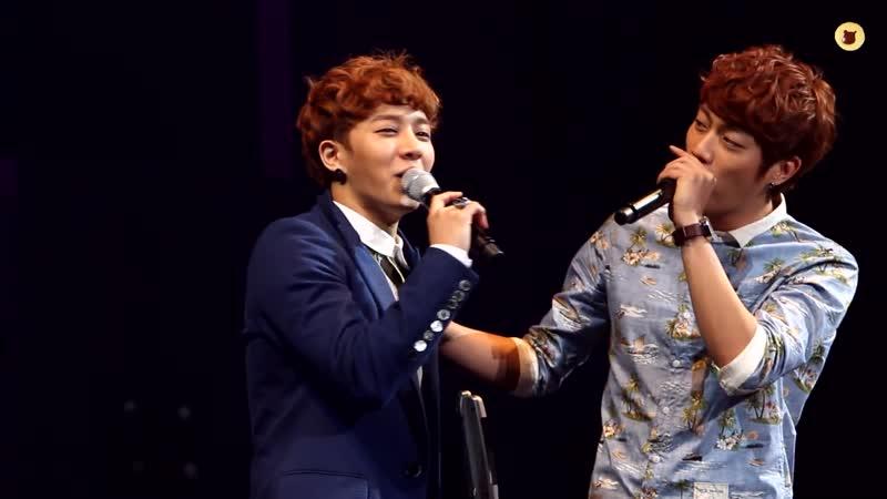 120422 Gikwang AJ wipe the tiers BEAST Fanmeeting Kikwang ver