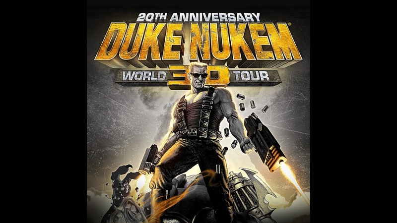 Duke Nukem 3D 20th Anniversary World Tour E4M8 Прохождение на Выкуси