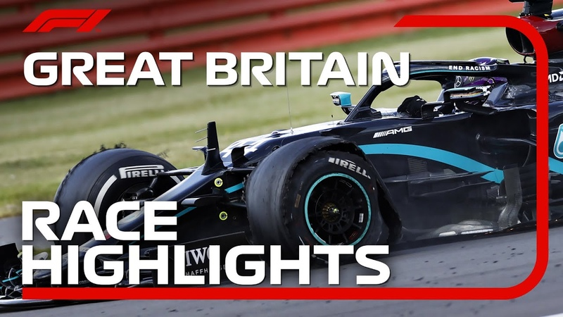 2020 British Grand Prix Race Highlights