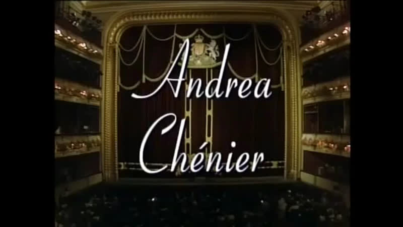 ANDREA CHÉNIER Domingo Tomowa Sintow Zancanaro The Royal Opera Julius Rudel 1985