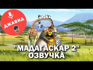МАДАГАСКАР 2 - ОЗВУЧКА ОТ ДЖАВИДА