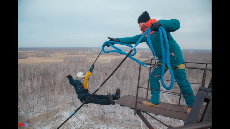 Valeriy U. прыжок FreeFallProX команда ProX74 объект AT53 Chelyabinsk 2019 4 jump RopeJumping