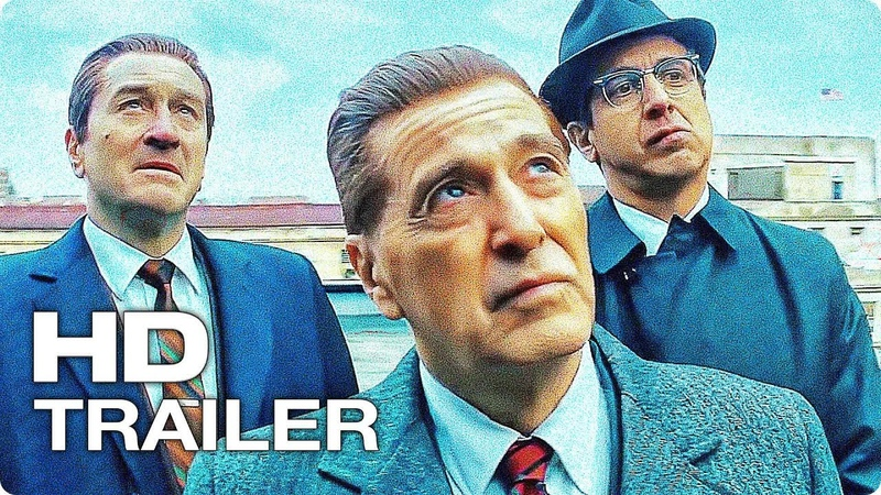 ИРЛАНДЕЦ Русский Трейлер 2 Озвучка Кубик В Кубе 2019 Роберт Де Ниро Аль Пачино Netflix Movie HD