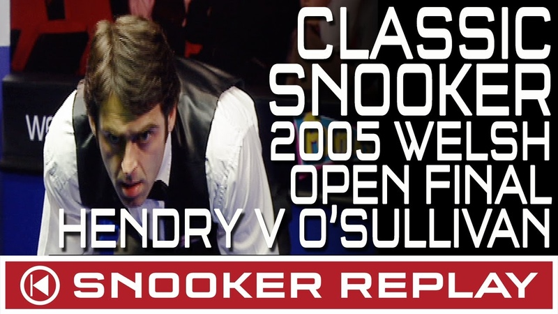 CLASSIC SNOOKER MATCH!! Stephen Hendry v Ronnie OSullivan - Welsh Open Final 2005