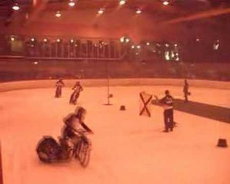 Christian Hülshorst Indoor Ice Speedway Telfort (GB) 2007 - Hülse Speedway Racing