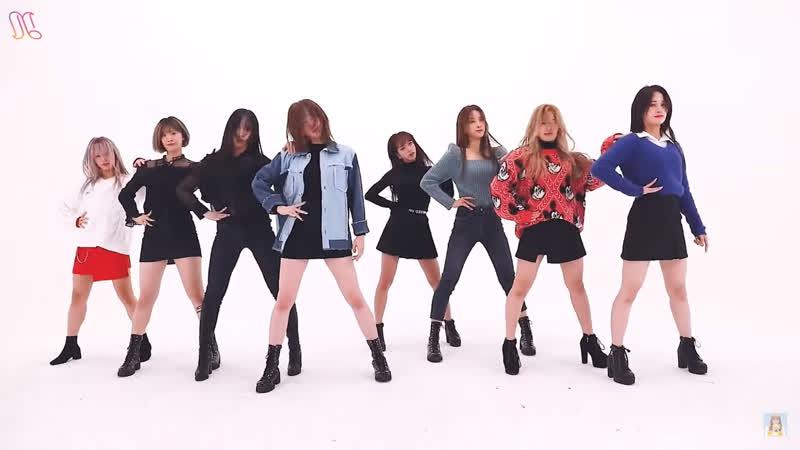 NATURE(네이쳐) - Bing Bing(빙빙) Dance Practice [Mirrored]