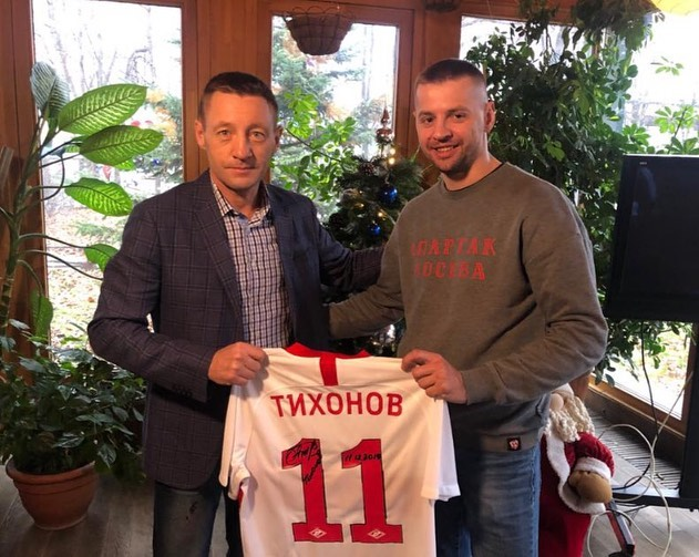 """Андрей Тихонов и Валерий """"Amigo"""" Бевз"""