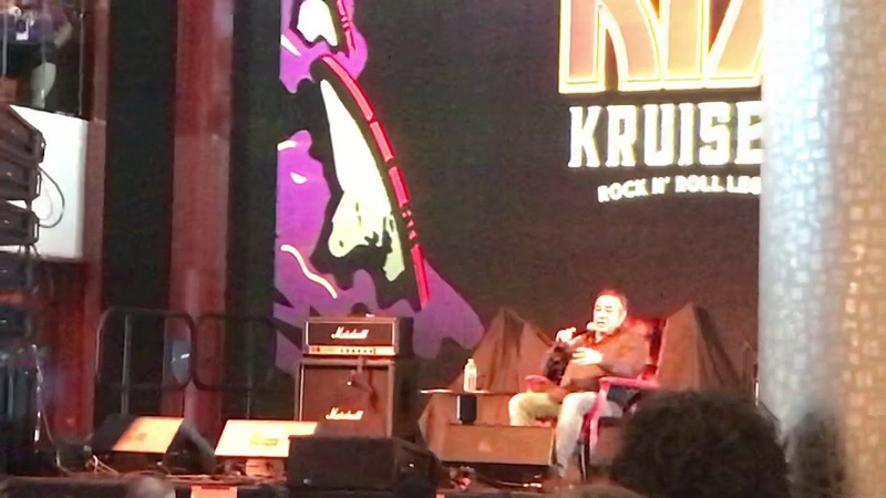 KISS Kruise IX - Doc McGee talks about having Vinnie Vincent, Ace Frehley and Peter Criss final show