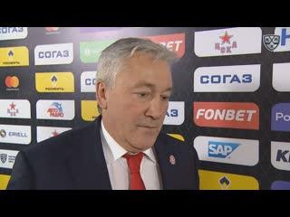 Блиц - интервью Михаила Кравеца перед матчем с ЦСКА ()