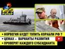 Норвегия будет топить корабли РФ ? • Цемах - варианты развития • Проверят каждого субсидианта