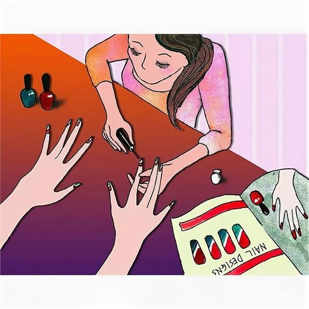 вот открытки про мастера маникюра гифка