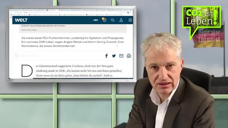 Digitaler Chronist: Katrin Göring Eckardt und andere Grüne - Ich verstehe ihre Wähler nicht