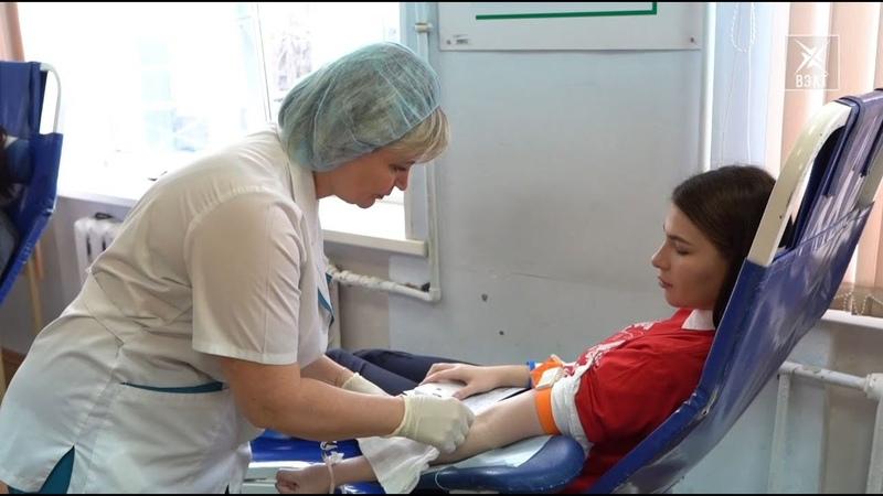 От сердца к сердцу. 28 литров крови сдали студенты и волонтеры Гжельского университета