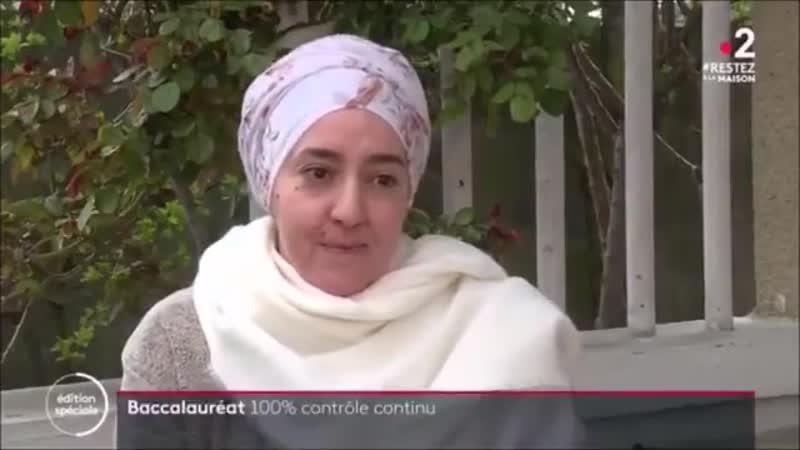 En pleine crise du Covid19 France2tv et la FCPE nationale font la promotion du voile islamique au JT de 20 heures