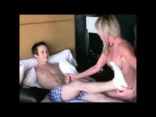 Taboo  18yo Stepson Cums inside his Cougar Mature Stepmom on Vacation