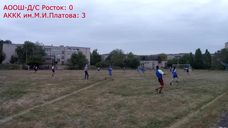 Футбол. АООШ Д/C Росток - АККК им.М.И.Платова (1:7)