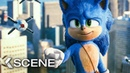Sonic Tricks Doctor Eggman Scene SONIC The Hedgehog 2020