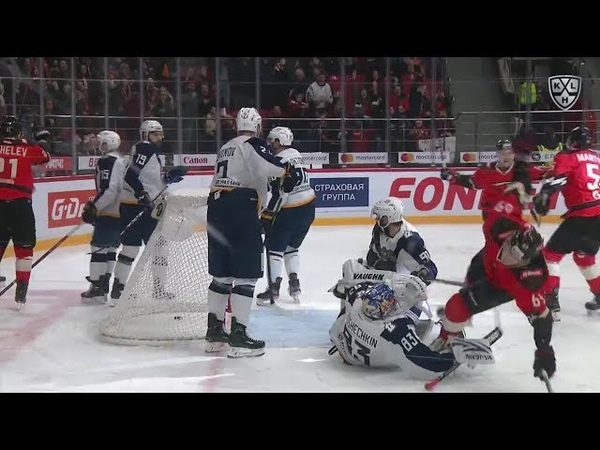 Shumakov adds it to the net off the crease