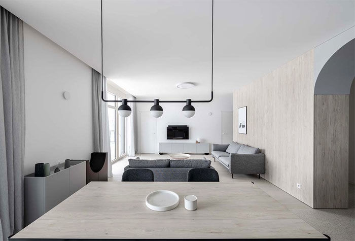 Arka Apartment by Toota Architects
