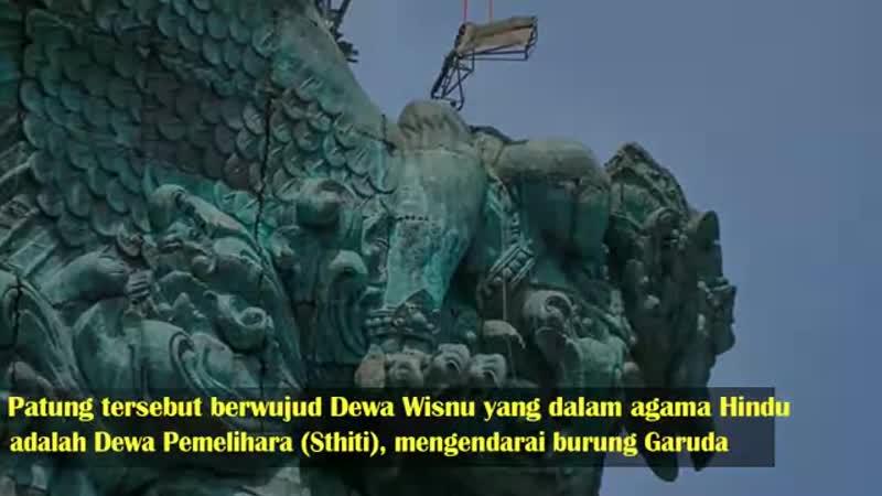 Lahirnya IKON BALI yang Spektakuler_ Garuda Wisnu(480P).mp4