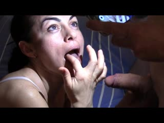 Veronika swallows all